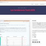actualité technologique 2019
